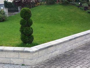 Betonsteinmauer Gartengestaltung Krottendorf